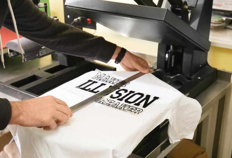 T-shirt tryk